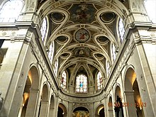 Paris, France. Eglise Saint Rock. (Interior)(Plaphon)(PA00085798).jpg