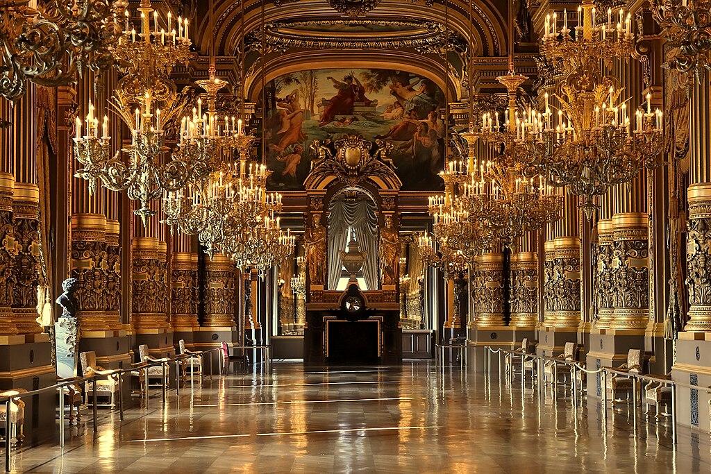 Le Grand Foyer Medicis : File paris palais garnier s grand salon g wikimedia