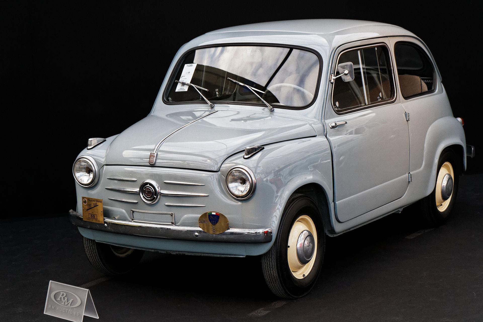 Px Paris Rm Auctions F C A Vrier Fiat on Fiat 850 Berlina