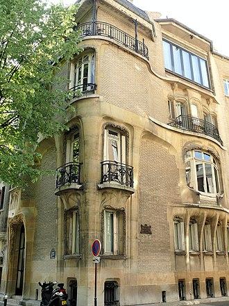 Adeline Oppenheim Guimard - Image: Paris 16 Hôtel Guimard 1