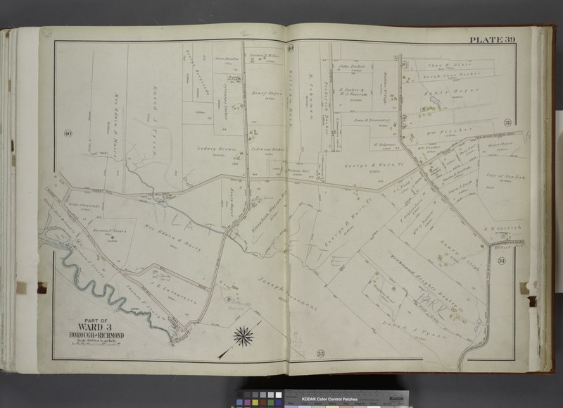 File:Part of Ward 3. (Map bound by Forest Hill Road (Old Mill Road), Richmond Hill Road, Klondike Ave, Rockland Ave (Saw Mill RD), Richmond Creek, Old Hill Road, Alaska PL) NYPL1646259.tiff