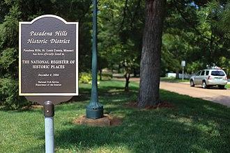 Pasadena Hills, Missouri - Pasadena Hills, Missouri