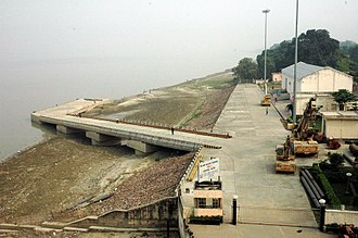 Patna river port on national inland waterways-1 at Gai Ghat Patna river port1.JPG