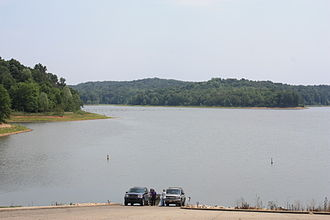 Patoka Lake - Image: Patoka Lake, Indiana 4