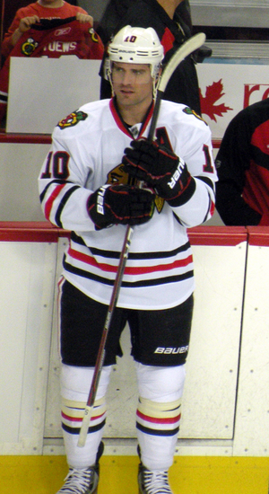 Patrick Sharp - Sharp with the Chicago Blackhawks in 2012