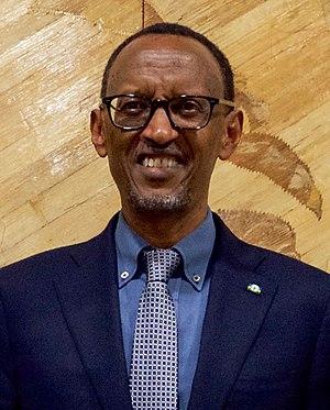 Rwandan presidential election, 2017 - Image: Paul Kagame Portrait 2016 10 14