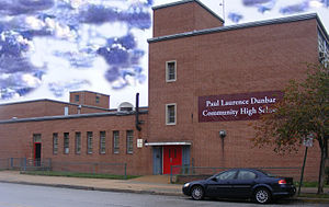 Paul Laurence Dunbar High School (Baltimore, Maryland) - Dunbar's temporary home during renovations