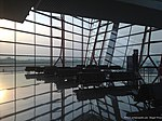 Peace and tranquility at gate E24 in Beijing Capital - quiet for a Friday evening, no? (7356409580).jpg