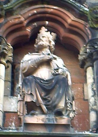 Peada of Mercia - Peada as portrayed in sculpture at Lichfield Cathedral