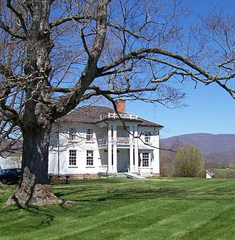 Pearl S. Buck - The Stulting House at the Pearl Buck Birthplace in Hillsboro, West Virginia