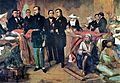 Pedro II of Brazil and ministers of state.JPG