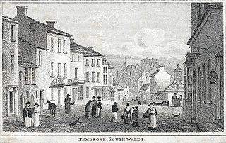 Pembroke, south Wales