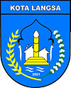 Official seal of Langsa