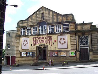 Penistone Paramount Cinema community cinema and theatre in Penistone near Barnsley, South Yorkshire, England