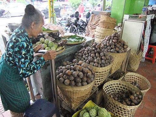 Penjual Salak Pondok Jalan Malioboro