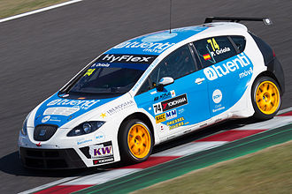 Pepe Oriola - Oriola driving for Tuenti Racing Team at the 2012 FIA WTCC Race of Japan.