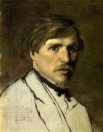 Illarion Pryanishnikov - Illarion Pryanishnikov. Portrait by Vasily Perov (1862)