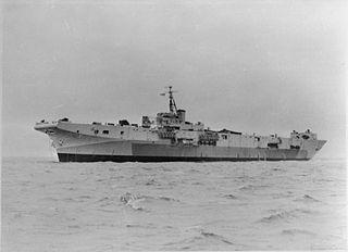 HMS <i>Perseus</i> (R51) Colossus-class light fleet aircraft carrier