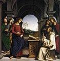 Perugino, apparizione della vergine a san bernardo, monaco.jpg