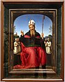 Perugino, sant'agostino con membri della confraternita di perugia, 1500 ca. 01.jpg