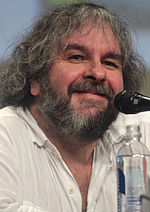 Photo of Peter Jackson in 2014.