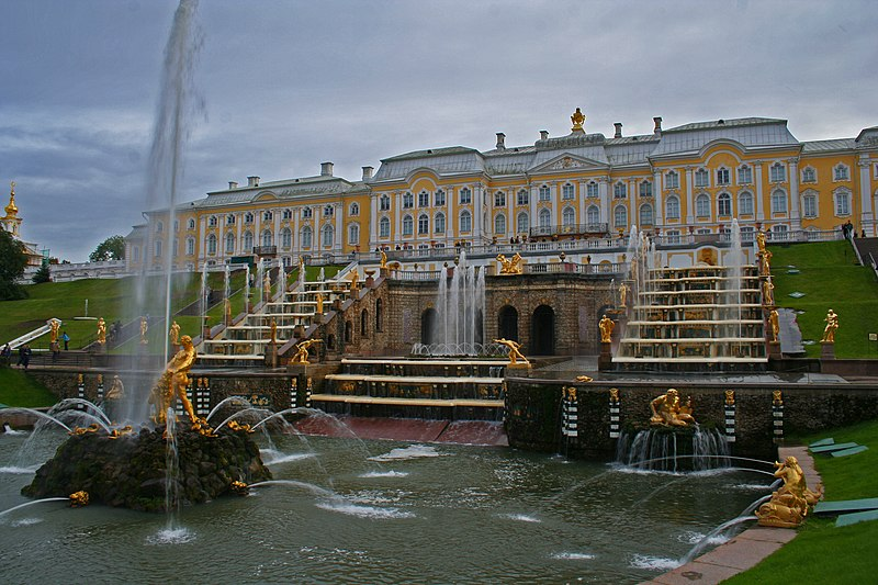File:Peterhof Fountains 01 - Big Cascade 03.jpg
