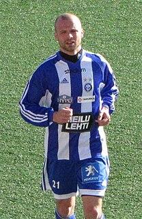 Petri Oravainen Finnish footballer