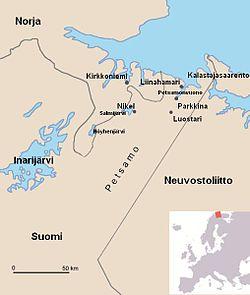 Liinahamarin Ja Kirkkoniemen Pommitukset 1941 Wikipedia