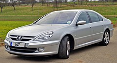 Peugeot 607 po face liftingu