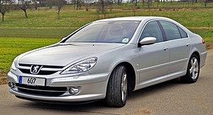 Peugeot 607 - 2004 facelift