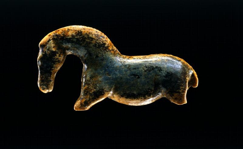 Pferd vom Vogelherd im Museum der Universität Tübingen