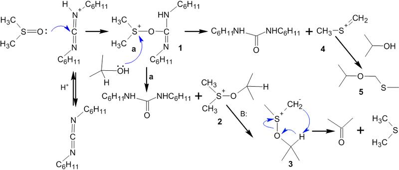 реакции протонированный