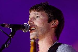 James Blunt en concert le 19 juillet lors du f...