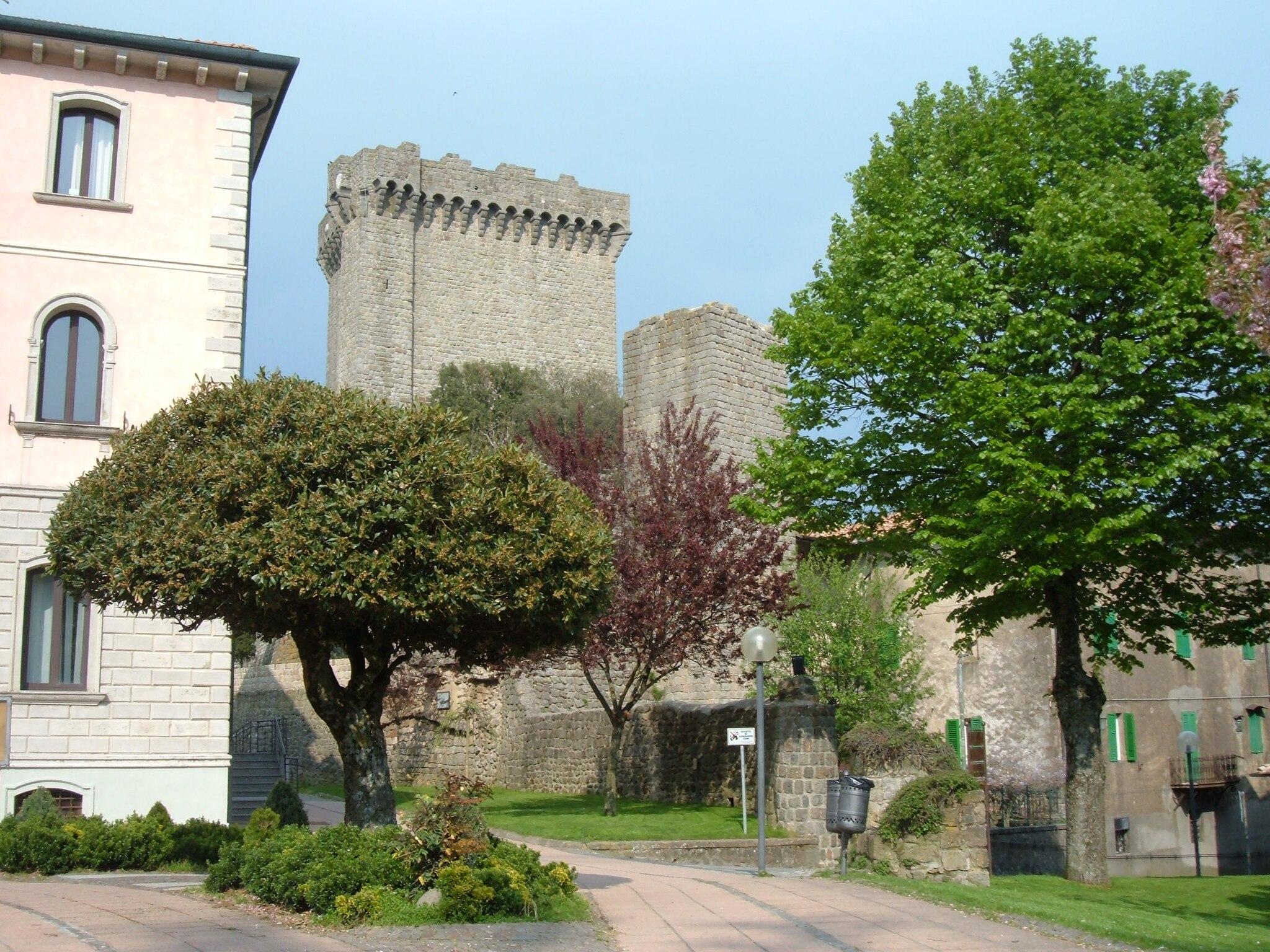 Rocca Aldobrandesca di Piancastagnaio