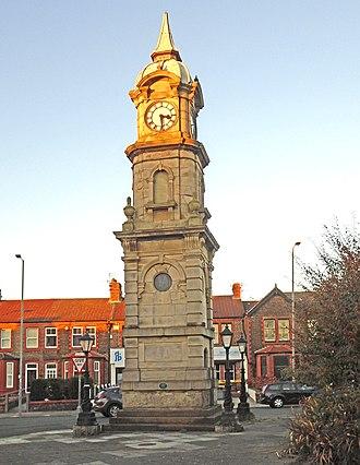 Picton Clock Tower - Image: Picton Clock 2