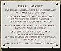 Pierre Alviset plaque - 88 rue Monge, Paris 5.jpg