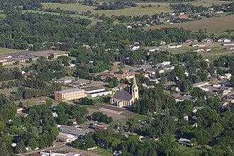 Pierz, Minnesota - Image: Pierz Aerial