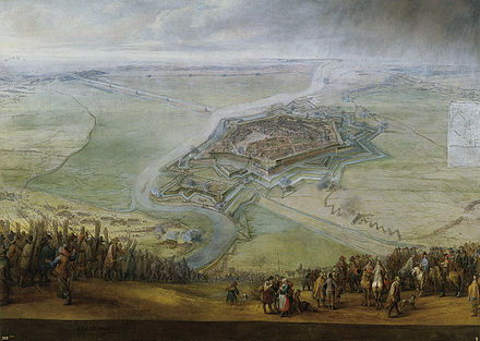 July 13: Battle of Gravelines Pieter Snayers Siege of Gravelines.jpg