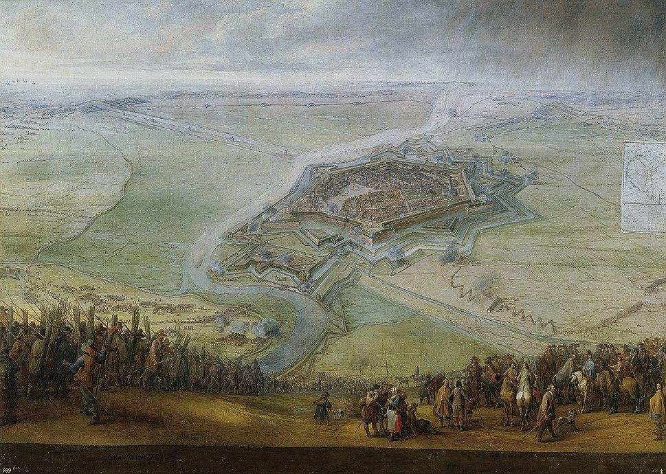 Pieter Snayers Siege of Gravelines