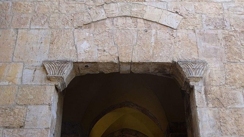 שער ציון בחומת ירושלים