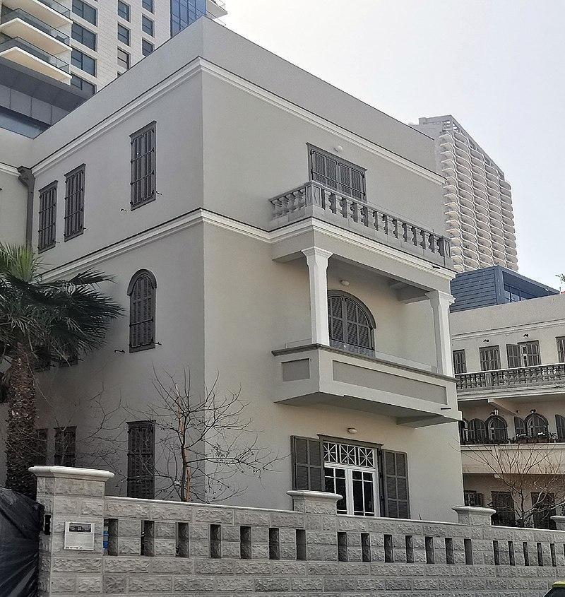 הבית ברחוב יהודה הלוי 6 תל אביב