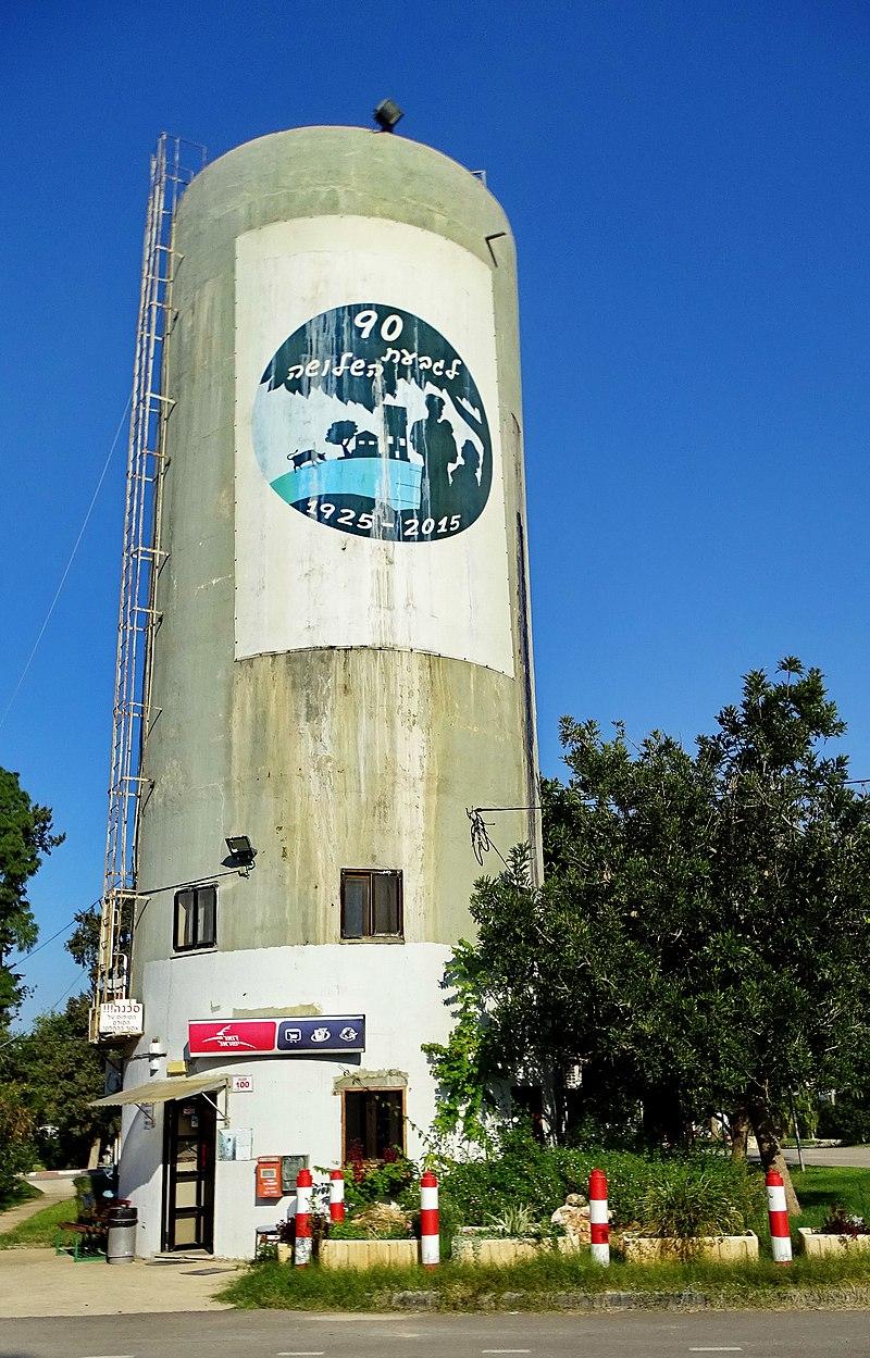 מגדל המים בגבעת השלושה