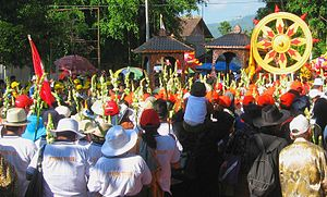 Pilgrims following the Dharma wheel.jpg