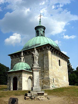 Pińczów - St Anne's Chapel in Pińczów, 1600s