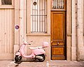 Pink Vespa In Lyon (166516511).jpeg