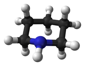 Piperidine - Image: Piperidine equatorial 3D balls B