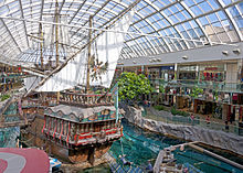 Does West Edmonton Mall Have A Car Dealership