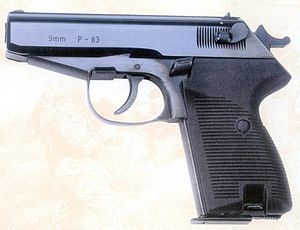 FB P-38 Wanad - P-83 pistol