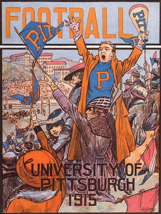 PittFootball1915program