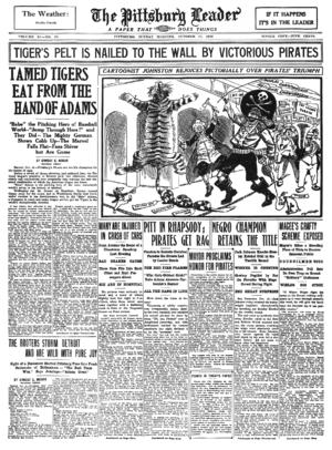 Pittsburgh Leader - Image: Pitt Leader 1909 10 17
